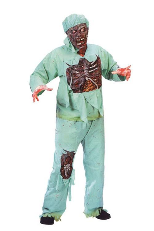 deguisement docteur zombie