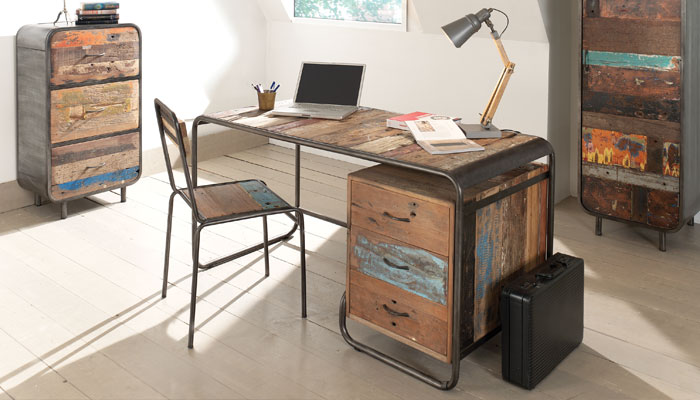 tendance le bureau aux allures vintage blog masculin. Black Bedroom Furniture Sets. Home Design Ideas