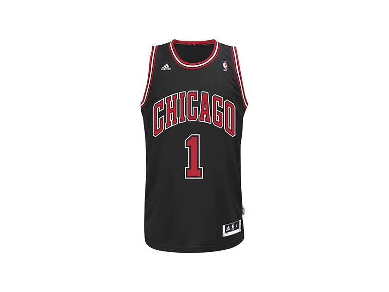 Maillot chicago bulls adidas swing man drose black