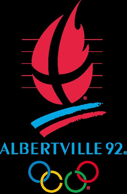 Le logo des JO d'Albertville.