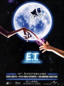 Jaquette de E.T., l'extra-terrestre