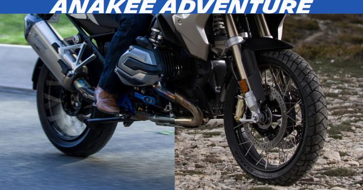 Anakee Adventure, le nouveau pneu Michelin